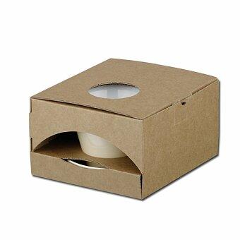 Obrázek produktu GB CLAUDE - papírová dárková krabička, přírodní
