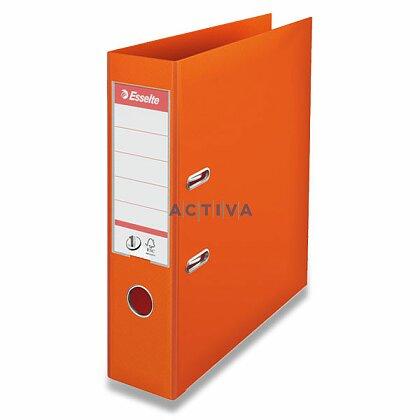 Obrázek produktu Esselte No. 1 Power - plastový pákový pořadač - 75 mm, oranžový