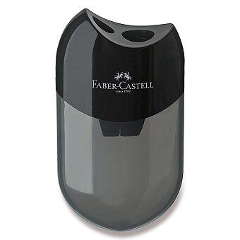 Obrázek produktu Ořezávátko Faber-Castell - 2 otvory, černé