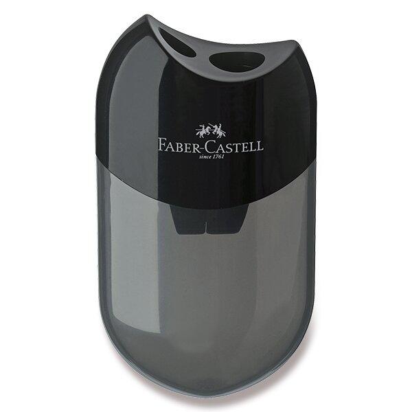 Ořezávátko Faber-Castell 2 otvory, černé