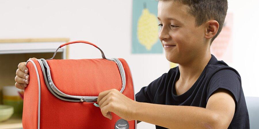 Svačinová termo taška s otevíráním na zip