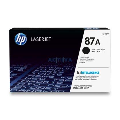 Obrázek produktu HP - toner CF287A, black (černý) pro laserové tiskárny