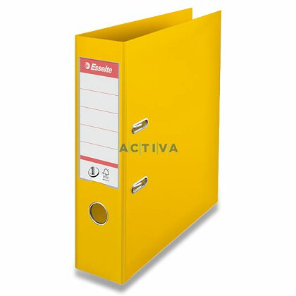 Obrázek produktu Esselte No. 1 Power - plastový pákový pořadač - 75 mm, žlutý