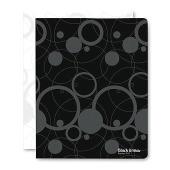 Obrázek produktu 4 - kroužkový pořadač PP Black & White - plast, A4, 20 mm, výběr barev