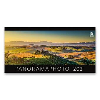 Obrázek produktu Nástěnný obrázkový kalendář Panoramaphoto 2021 - 14 listů, 63 x 31,5 cm