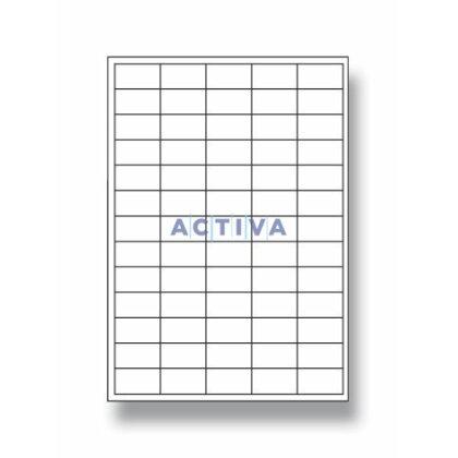 Obrázok produktu OA - samolepiace etikety - 38,0×21,2 mm, 6500 etikiet