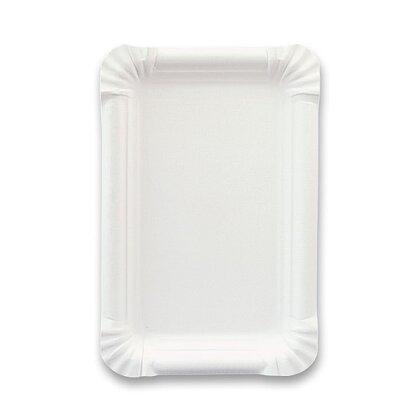 Obrázek produktu Papírový tácek - 11 × 17 cm, 100 ks