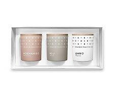 Dárkový set 3 mini svíček Skandinavisk SENSE