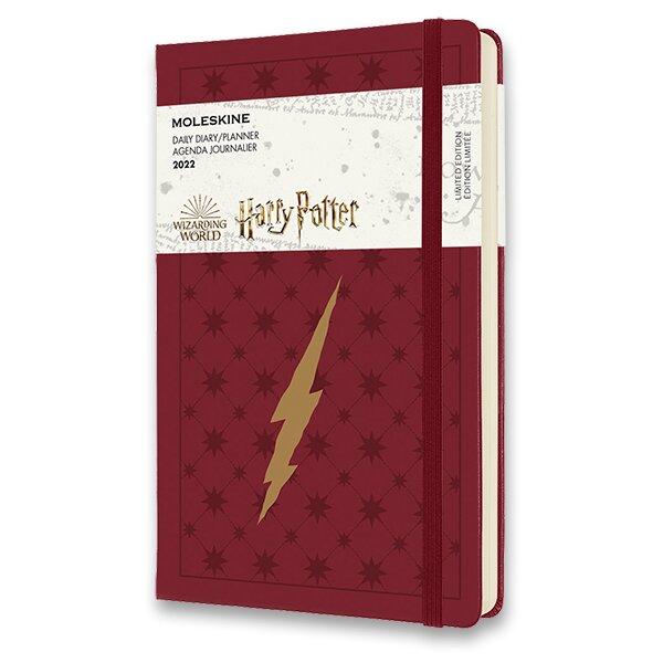 Diář Moleskine 2022 Harry Potter