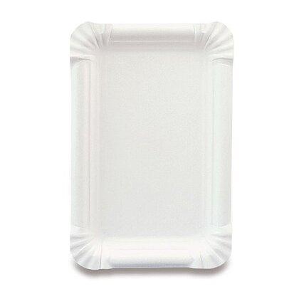 Obrázek produktu Papírový tácek - 13 × 20 cm, 100 ks