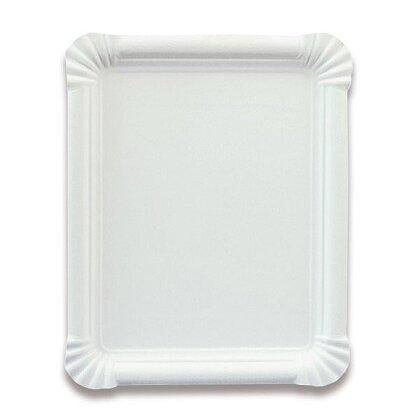 Obrázek produktu Papírový tácek - 16 × 23 cm, 100 ks