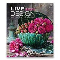 Nástěnný obrázkový kalendář Live Design 2021
