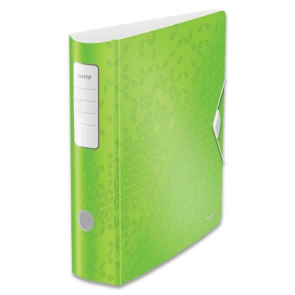 Pákový pořadač Leitz Wow zelený