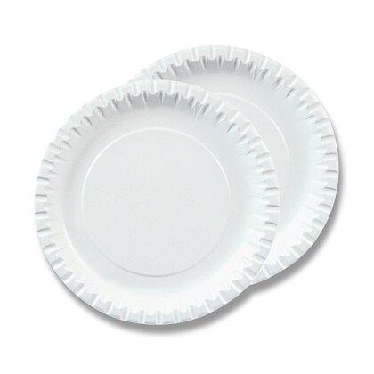 Obrázek produktu Papírový talíř - průměr 23 cm, 100 ks