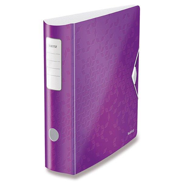 Pákový pořadač Leitz Wow fialový