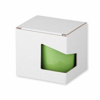 Obrázek produktu GB MOCCA - papírová dárková krabička, bílá