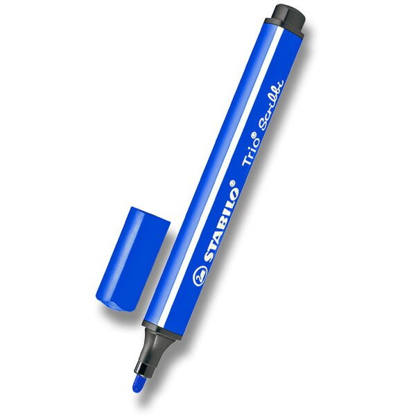 Dětský fix Stabilo Trio Scribbi modrý