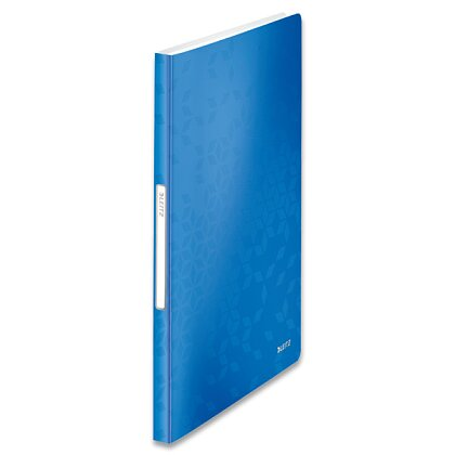 Obrázek produktu Leitz Wow - katalogová kniha - 40 kapes, modrá