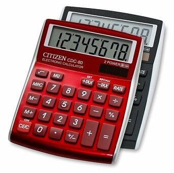 Obrázek produktu Stolní kalkulátor Citizen CDC-80 - výběr barev
