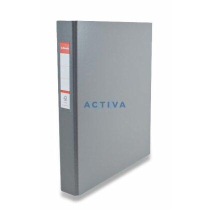 Obrázek produktu Esselte Vivida - 4-kroužkový pořadač - A4, 42 mm, šedý