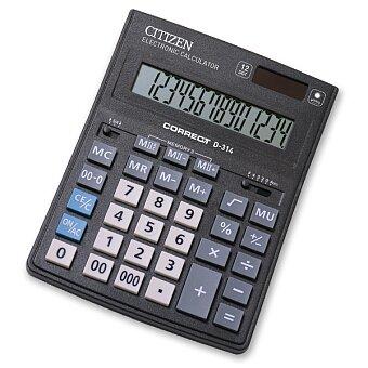 Obrázek produktu Stolní kalkulátor Citizen D-314