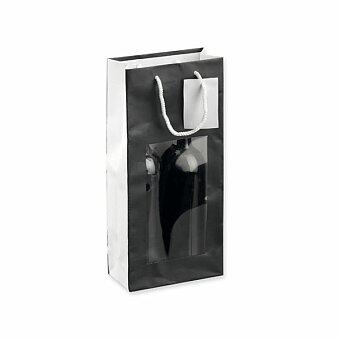 Obrázek produktu LEONA II - papírová taška na 2 láhve vína, výběr barev