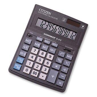 Obrázek produktu Stolní kalkulátor Citizen D-312