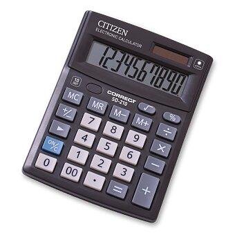 Obrázek produktu Stolní kalkulátor Citizen SD-210