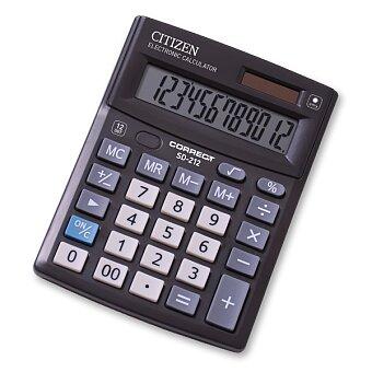 Obrázek produktu Stolní kalkulátor Citizen SD-212