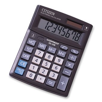 Obrázek produktu Stolní kalkulátor Citizen SD-208