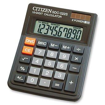 Obrázek produktu Stolní kalkulátor Citizen SDC-022S