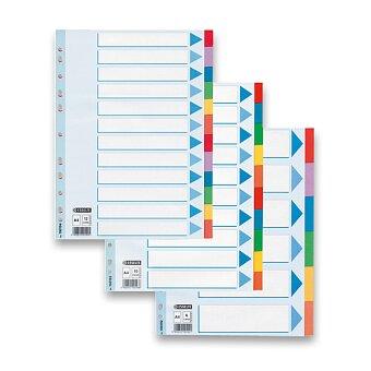 Obrázek produktu Papírový rozlišovač Esselte - A4, barevný, výběr počet listů