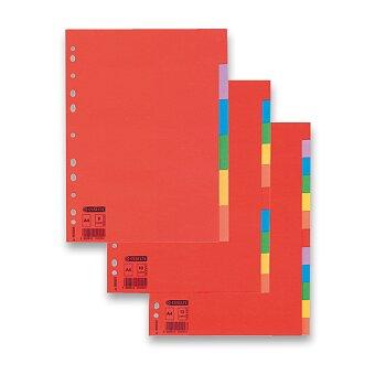 Obrázek produktu Papírový rozlišovač Esselte Economy - A4, barevný, výběr počet listů