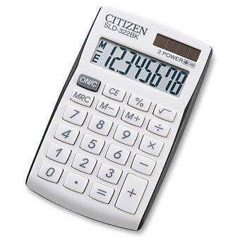 Obrázek produktu Kapesní kalkulátor Citizen SLD-322BK