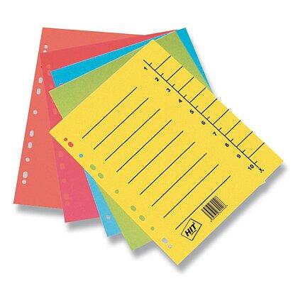 Obrázek produktu HIT Office - papírový rozlišovač - A4, mix barev
