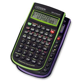 Obrázek produktu Vědecký kalkulátor Citizen SR-270N - výběr barev