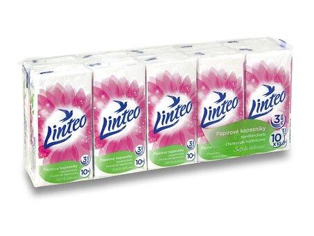 Obrázek produktu Papírové kapesníčky Linteo - 3 - vrstvé, 10 x 10 ks
