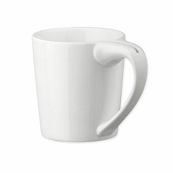 Obrázek produktu WRING - porcelánový hrnek se ždímačem čaj. sáčků, 300 ml, bílá
