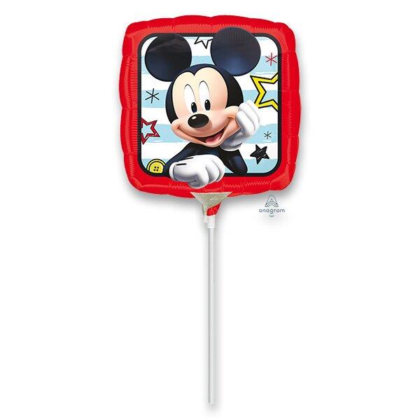 Fóliový party balónek kulatý Mickey Roadster