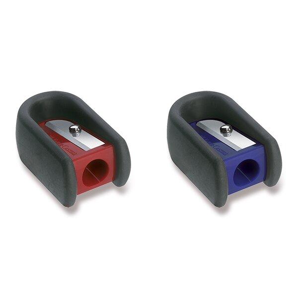 Ořezávátko Faber-Castell s gumovým úchytem 1 otvor, mix barev
