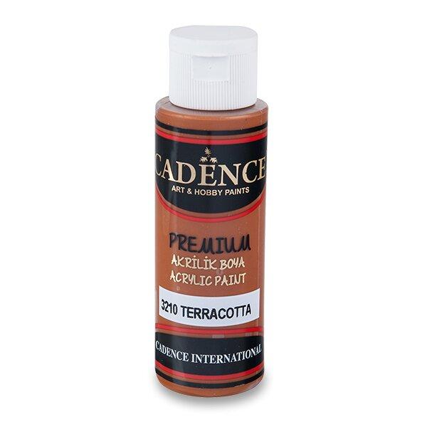 Akrylové barvy Cadence Premium sv. hnědá