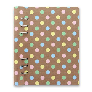 Zápisník A5 Filofax Notebook Pastel Spots