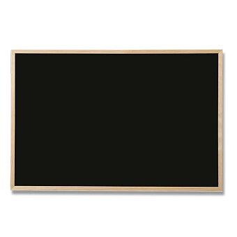 Obrázek produktu Černá tabule v dřevěném rámu - 80 x 60 cm