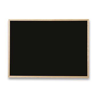 Obrázek produktu Černá tabule v dřevěném rámu - 60 x 40 cm