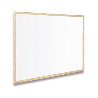 Obrázek produktu Bílá magnetická popisovatelná tabule Bi-Office v dřevěném rámu - 40 x 60  cm
