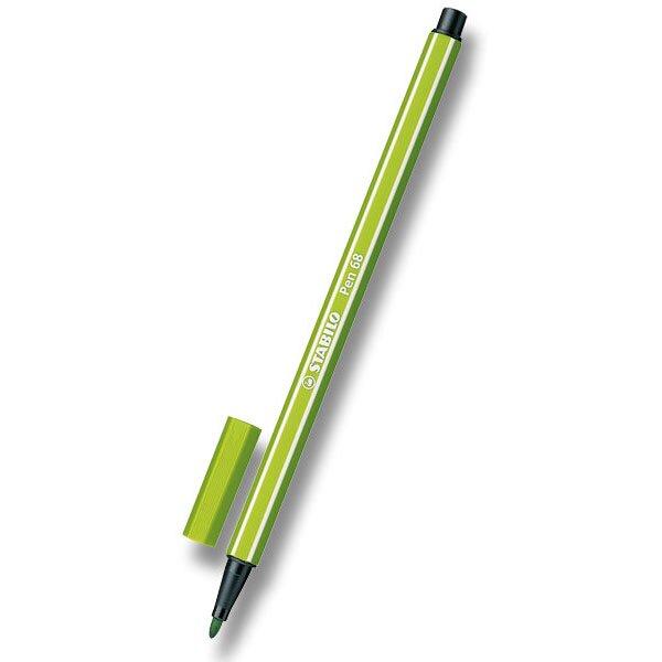 Fix Stabilo Pen 68 listově zelený