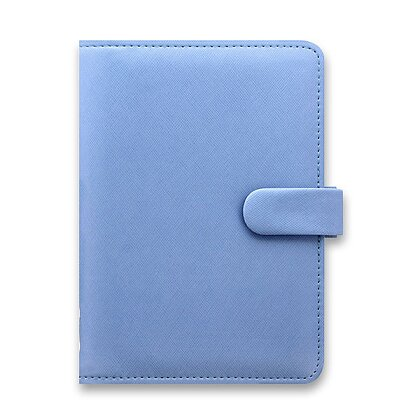 Obrázek produktu Filofax Saffiano - osobní diář A6 - modrý