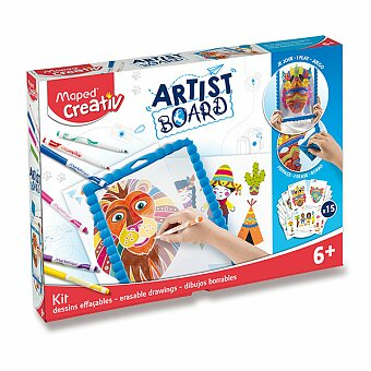 Obrázek produktu Sada MAPED Creativ Artist Board Transparentní tabule na kreslení