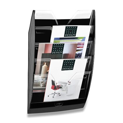 Obrázek produktu CEP ReCEPtion - nástěnný odkladač - černý