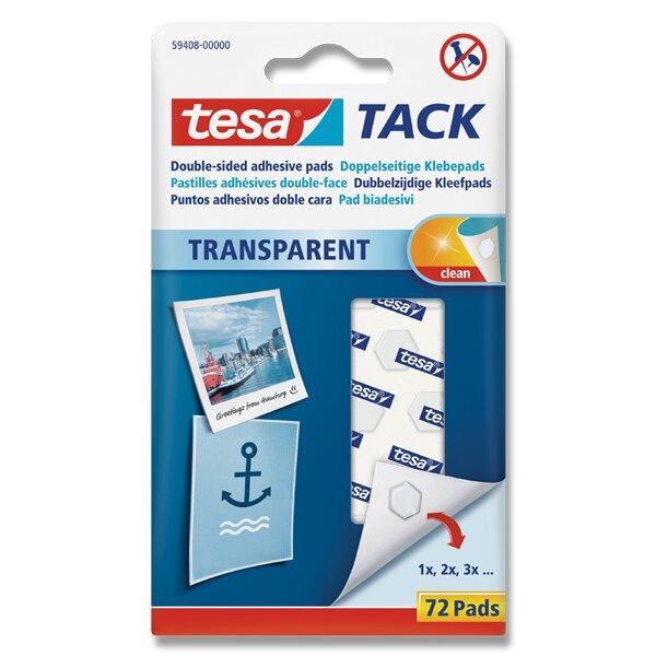 Oboustranně lepicí polštářky Tesa Tack 72 ks, 12 mm